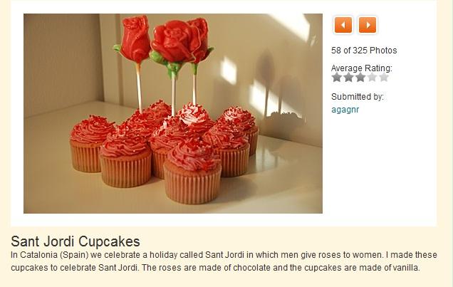 Cupcake Contest de Martha Stewart