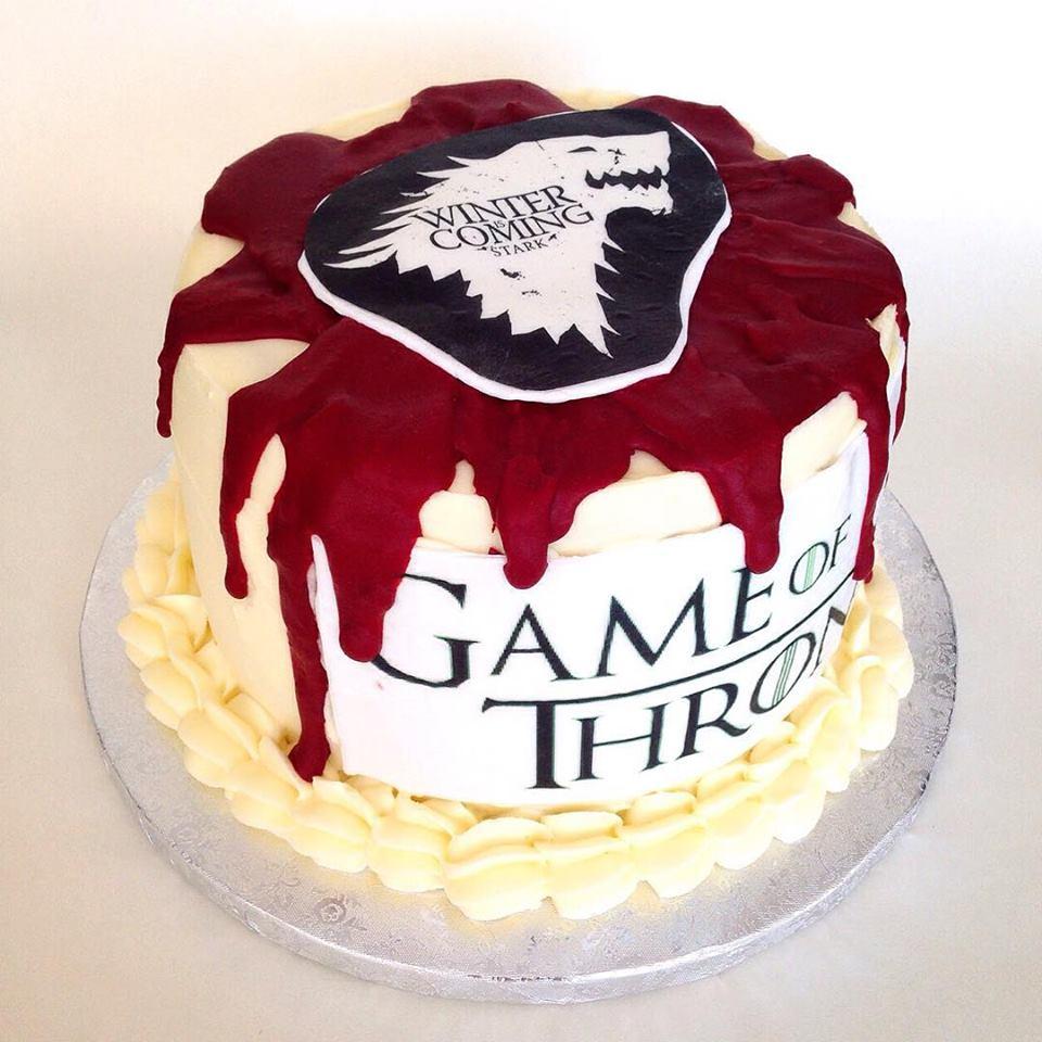 Tarta juego de tronos tartas caseras for Decoracion juego de tronos