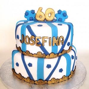 Tarta 60 aniversario