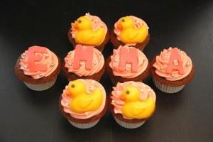 Cupcakes Patitos