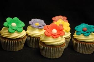 Cupcakes Flor