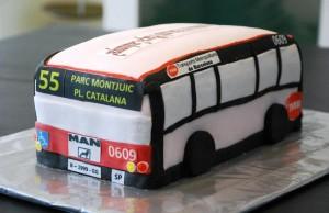 Tarta Autobús