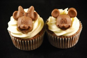 Cupcakes Mickey y Minnie