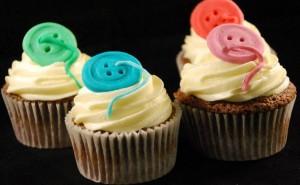 Cupcakes Botones