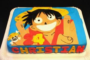Tarta Luffy
