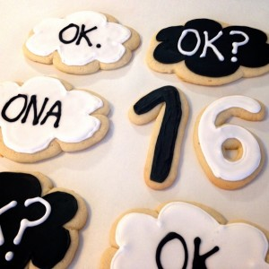The Fault in Our Stars Cookies