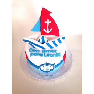 Tarta Barco Papel