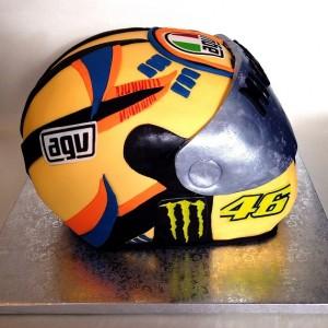 Tarta Casco Valentino Rossi