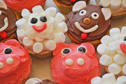 Cupcakes de Animalitos